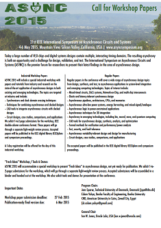Call for workshop papers - PDF